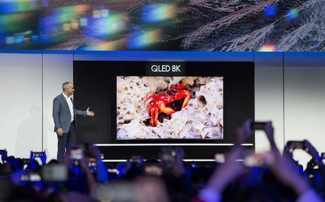 Một nửa thị trường TV 8K sẽ là của Samsung - Ảnh 1.