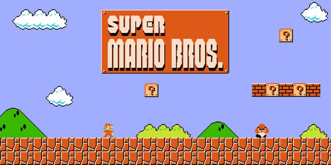 Super Mario Bros World 1-1 được tái tạo hoàn hảo trên... quyển vở của người hâm mộ Nhật Bản - Ảnh 1.