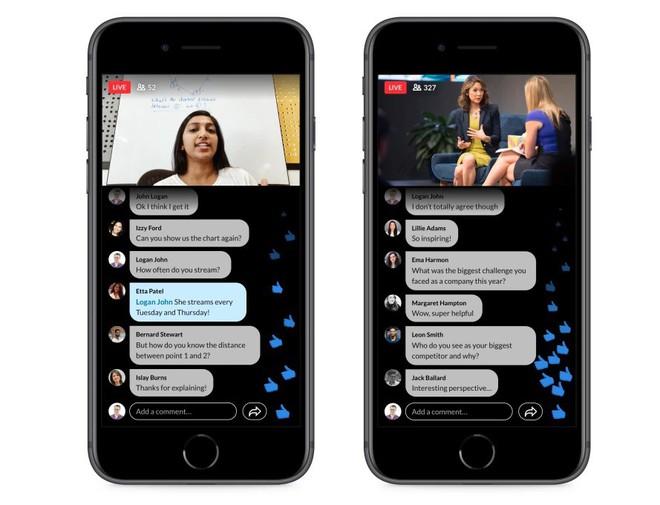 LinkedIn ra mắt dịch vụ phát video trực tiếp mang tên LinkedIn Live - Ảnh 1.