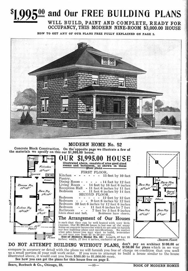 Nhà DIY ở Mỹ đã có từ đầu thế kỷ 20, 70% trong số đó vẫn trụ vững sau cả trăm năm, có căn được định giá tới 1 triệu USD - Ảnh 3.