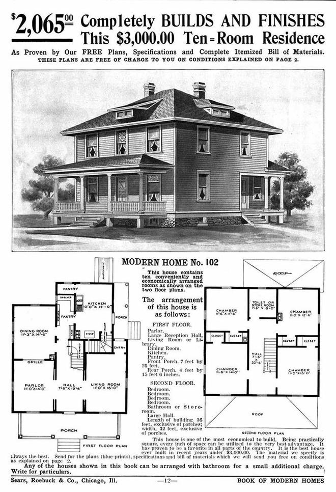 Nhà DIY ở Mỹ đã có từ đầu thế kỷ 20, 70% trong số đó vẫn trụ vững sau cả trăm năm, có căn được định giá tới 1 triệu USD - Ảnh 5.