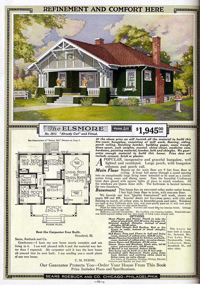 Nhà DIY ở Mỹ đã có từ đầu thế kỷ 20, 70% trong số đó vẫn trụ vững sau cả trăm năm, có căn được định giá tới 1 triệu USD - Ảnh 6.