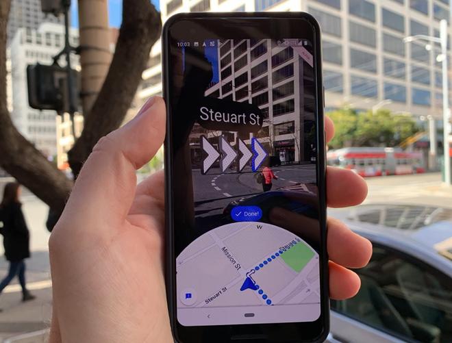 Dùng thử tính năng thực tế ảo tăng cường của Google Maps: đổi từ nhìn bản đồ 2D sang 3D có gì khác? - Ảnh 1.