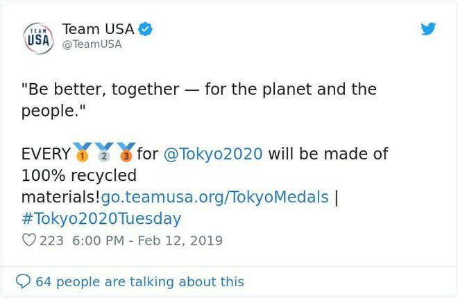 Nhật Bản kêu gọi người dân quyên góp ve chai để đúc huy chương Olympic 2020 - Ảnh 2.