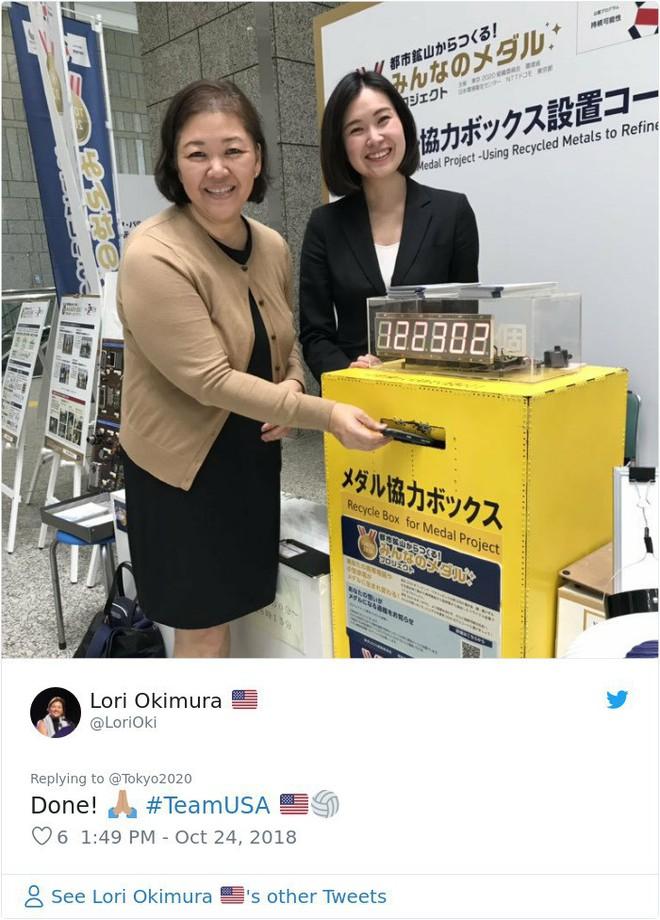 Nhật Bản kêu gọi người dân quyên góp ve chai để đúc huy chương Olympic 2020 - Ảnh 7.