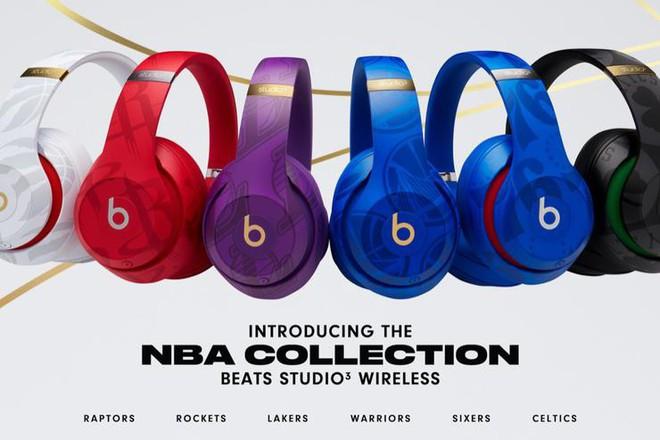 Apple ra mắt tai nghe Beats Studio3 phiên bản NBA dành riêng cho fan bóng rổ - Ảnh 1.