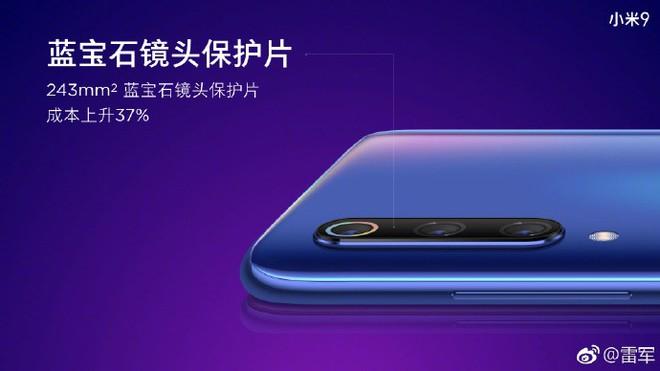 CEO Xiaomi Lei Jun xác nhận thông số camera Mi 9: Camera chính 48MP + 16MP + 12MP, ống kính góc siêu rộng - Ảnh 3.