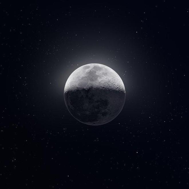 Bức ảnh Mặt trăng với độ phân giải 81 megapixel làm cư dân mạng trầm trồ ngắm nhìn - Ảnh 1.