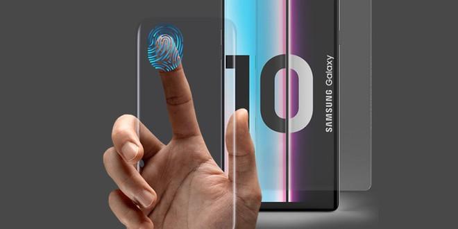 Hãng phụ kiện tuyên bố sẽ ra mắt miếng dán màn hình duy nhất trên thế giới có thể hoạt động với cảm biến vân tay siêu âm của Galaxy S10 - Ảnh 1.