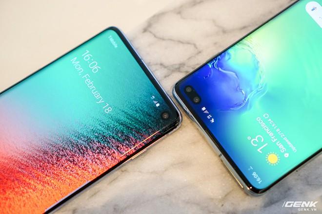 Trên tay Galaxy S10 và S10+: Bước ngoặt mới trong thiết kế smartphone - Ảnh 2.
