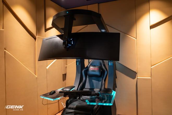 Đột nhập nhà đại gia Hà Thành để trải nghiệm ghế gaming cao cấp giá 100 triệu Đồng - Ảnh 2.