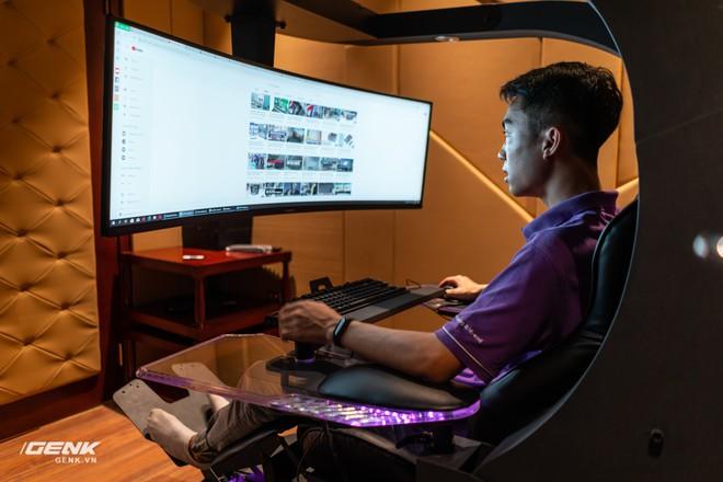 Đột nhập nhà đại gia Hà Thành để trải nghiệm ghế gaming cao cấp giá 100 triệu Đồng - Ảnh 10.
