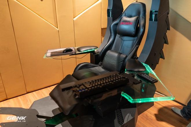 Đột nhập nhà đại gia Hà Thành để trải nghiệm ghế gaming cao cấp giá 100 triệu Đồng - Ảnh 3.