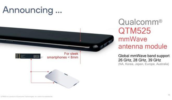 Modem X55 mới của Qualcomm sẽ giúp điện thoại 5G mỏng hơn và phổ biến rộng rãi hơn vào năm 2020 - Ảnh 2.