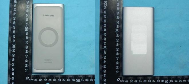 Sạc dự phòng không dây của Samsung lộ diện, dung lượng 10.000mAh, ra mắt cùng Galaxy S10 - Ảnh 1.