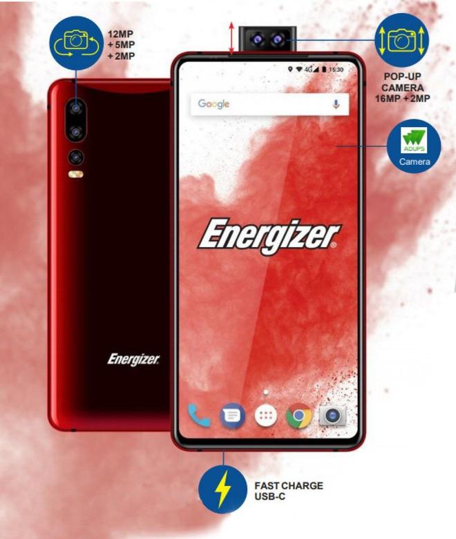 Energizer xác nhận sẽ ra mắt smartphone pin... 18000mAh tại MWC 2019 - Ảnh 1.
