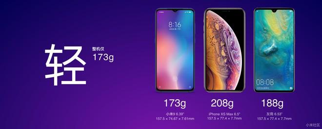 Xiaomi nói rằng Mi 9 tốt hơn cả iPhone XS Max ở những điểm nào? - Ảnh 1.