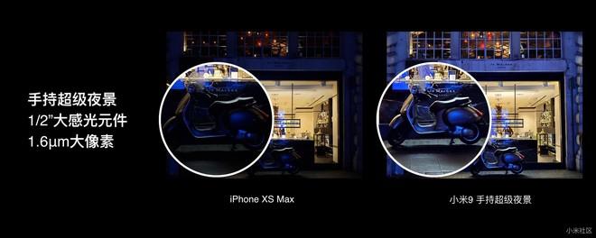 Xiaomi nói rằng Mi 9 tốt hơn cả iPhone XS Max ở những điểm nào? - Ảnh 4.