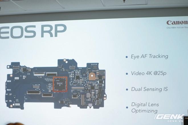 Canon chính thức ra mắt EOS RP: cảm biến full-frame, kích thước nhỏ gọn, giá 38 triệu đồng - Ảnh 11.