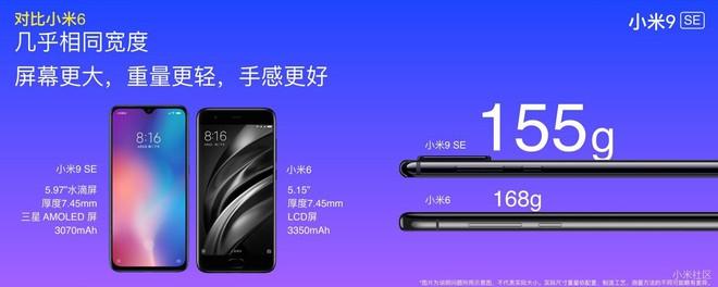 Xiaomi ra mắt Mi 9 SE, màn hình 5.97 inch, Snapdragon 712, camera sau 48MP, màu sắc bắt mắt, giá từ 6,9 triệu - Ảnh 1.