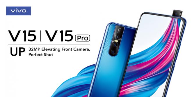Vivo V15 Pro ra mắt: Camera selfie thò thụt 32MP, 3 camera chính, vân tay trong màn hình, Snapdragon 675, giá 9.5 triệu đồng - Ảnh 1.