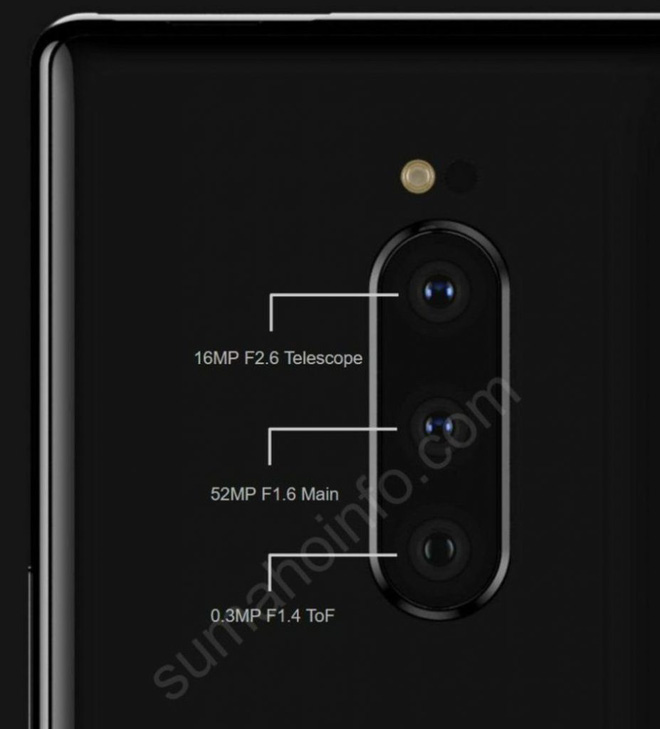 Sony Xperia 1 lộ diện với thiết kế mới, màn hình siêu dài 21:9 và 3 camera sau 52MP - Ảnh 2.