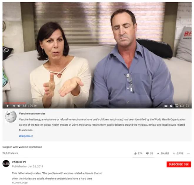 YouTube chính thức tắt chức năng quảng cáo kiếm tiền của các kênh chống vắc-xin - Ảnh 2.