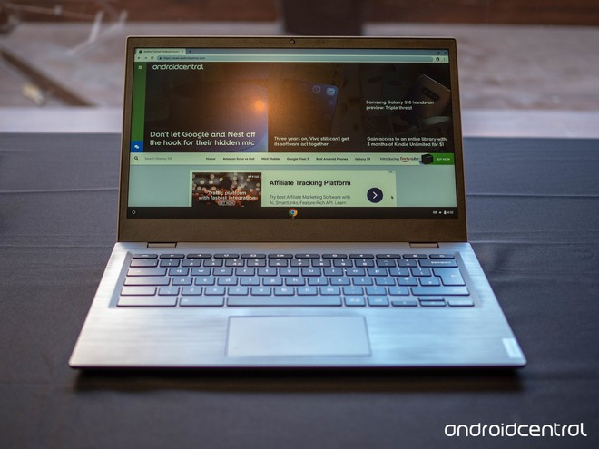 [MWC 2019] Lenovo 14e Chromebook là chiếc máy tính dành cho những nhân viên công sở vụng về - Ảnh 1.