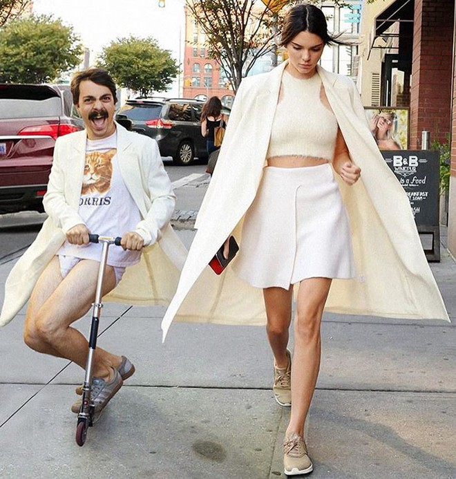 Biết là ảnh Photoshop, Internet vẫn ghen tỵ vì anh này được dắt tay Kendall Jenner đi chơi khắp nơi - Ảnh 10.