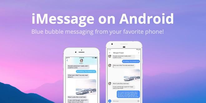 Đã có thể dùng iMessage trên Android, với điều kiện là bạn phải có máy Mac - Ảnh 3.