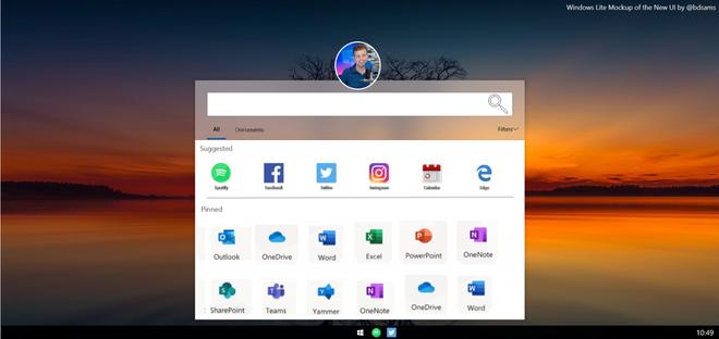 Đây chính là giao diện của Lite OS - đối thủ cạnh tranh với Chrome OS của Microsoft - Ảnh 1.