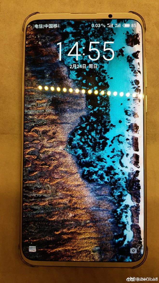 Meizu 16s Plus lộ diện với màn hình không tai thỏ, không nốt ruồi - Ảnh 1.