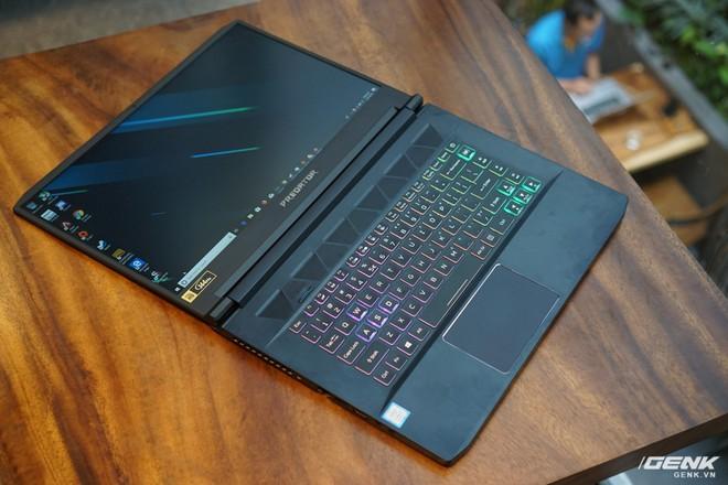Trên tay Acer Predator Triton 500: laptop gaming cao cấp mỏng nhẹ, GPU Nvidia RTX 2080 Max-Q, giá từ 50 triệu - Ảnh 3.