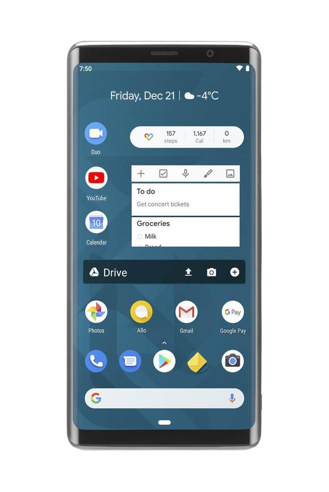 [MWC 2019] F(x)tec Pro 1 - Sự hồi sinh của smartphone Android với bàn phím vật lý? - Ảnh 4.