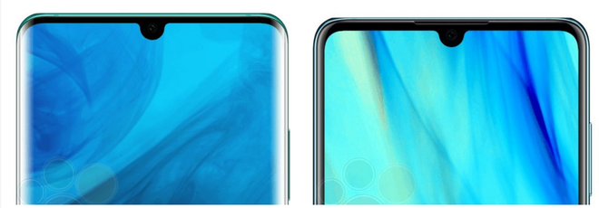 Huawei P30 và P30 Pro lộ ảnh báo chí, màn hình giọt nước cực nhỏ, 4 camera sau - Ảnh 2.