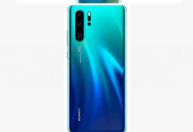 Huawei P30 và P30 Pro lộ ảnh báo chí, màn hình giọt nước cực nhỏ, 4 camera sau - Ảnh 4.