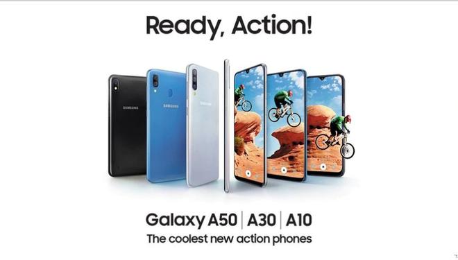 Samsung ra mắt em út dòng A với Galaxy A10: Chip Exynos 7884, 2GB RAM và màn 6,2 inch HD+, giá 2,7 triệu đồng - Ảnh 1.