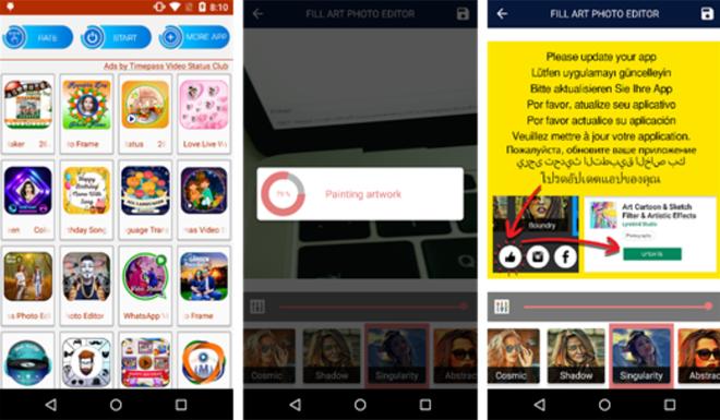 Phát hiện mã độc Android giả dạng ứng dụng chụp ảnh làm đẹp trên Google Play Store - Ảnh 1.