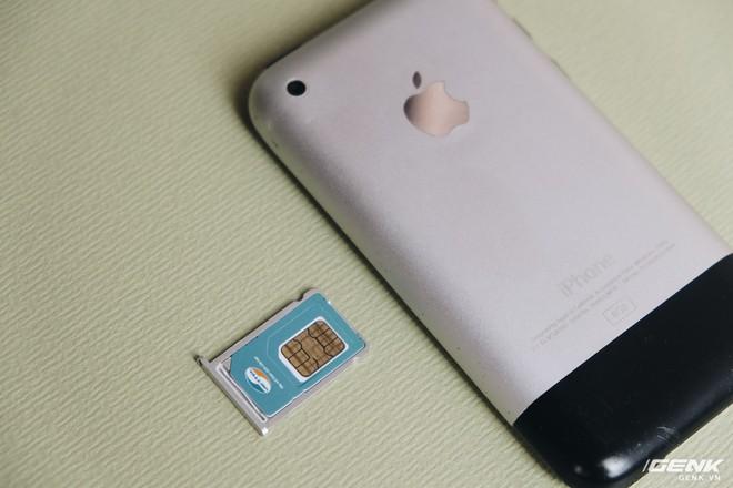 11 đời iPhone và 4 loại thẻ SIM: Từ Mini SIM đến eSIM, iPhone đã thay đổi thẻ SIM như thế nào? - Ảnh 1.