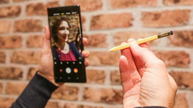 Bút S Pen của thế hệ Galaxy Note sắp tới sẽ được tích hợp cả camera dùng để chụp ảnh selfie? - Ảnh 1.
