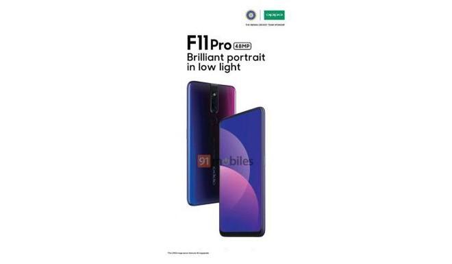 OPPO F11 Pro lộ diện: Camera selfie thò thụt 32MP, camera chính 48MP, màu gradient, giá dưới 8 triệu - Ảnh 1.