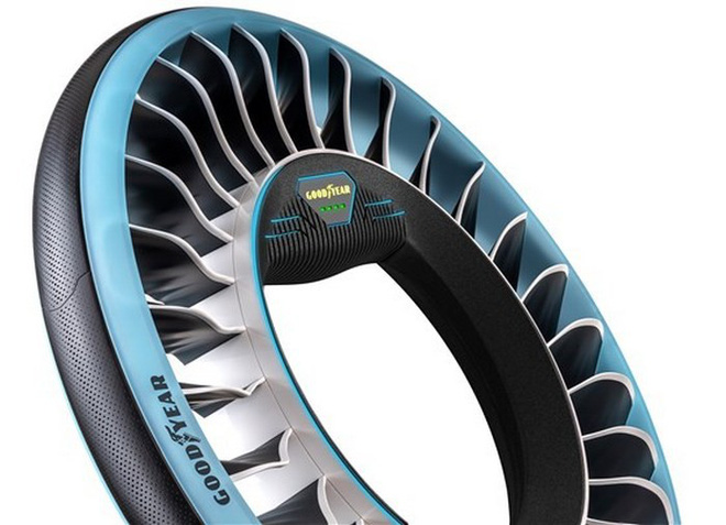 Độc đáo ý tưởng lốp xe kiêm cánh quạt, vừa là bánh xe đi trên mặt đất nhưng cũng có thể biến thành cánh quạt khi bay - Ảnh 5.