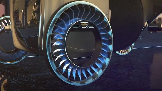 Độc đáo ý tưởng lốp xe kiêm cánh quạt, vừa là bánh xe đi trên mặt đất nhưng cũng có thể biến thành cánh quạt khi bay - Ảnh 6.