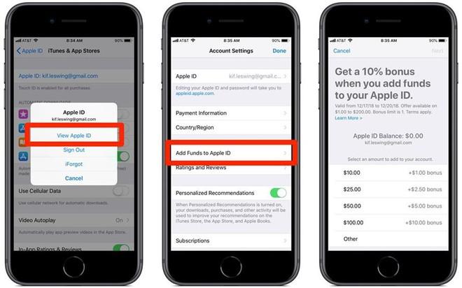Apple tặng thưởng tín dụng 10% cho người dùng nạp tiền vào Apple ID trước 14-3 - Ảnh 3.