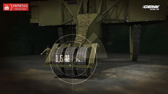 [Vietsub] Tìm hiểu về chiếc xe tăng Sa Hoàng độc nhất vô nhị trong thế chiến I: cao 9 m, nặng 40 tấn nhưng chỉ là món đồ chơi phóng to - Ảnh 12.