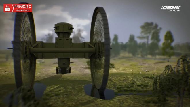 [Vietsub] Tìm hiểu về chiếc xe tăng Sa Hoàng độc nhất vô nhị trong thế chiến I: cao 9 m, nặng 40 tấn nhưng chỉ là món đồ chơi phóng to - Ảnh 16.