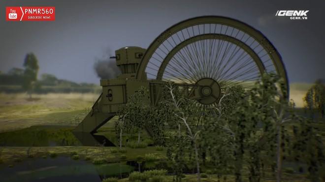 [Vietsub] Tìm hiểu về chiếc xe tăng Sa Hoàng độc nhất vô nhị trong thế chiến I: cao 9 m, nặng 40 tấn nhưng chỉ là món đồ chơi phóng to - Ảnh 17.
