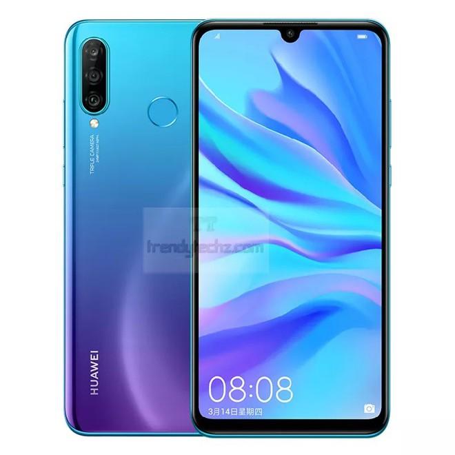Huawei Nova 4e lộ ảnh render với màn hình giọt nước, 3 camera sau, camera selfie 32MP - Ảnh 1.