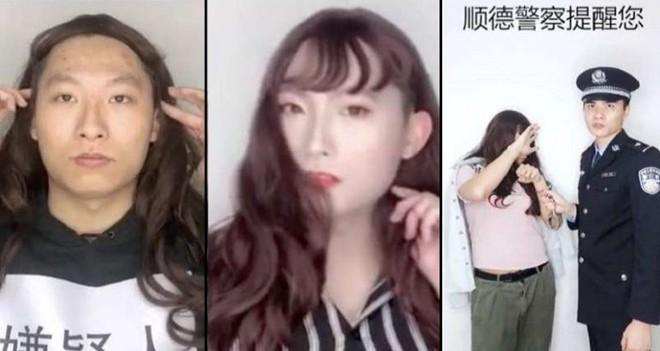 Công an Trung Quốc giả gái để chứng minh đàn ông dễ dàng bị lừa tình trên mạng như thế nào - Ảnh 3.
