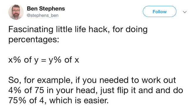 Công thức toán hack não, hack cả cuộc sống này đang khiến cộng đồng mạng chao đảo - Ảnh 1.